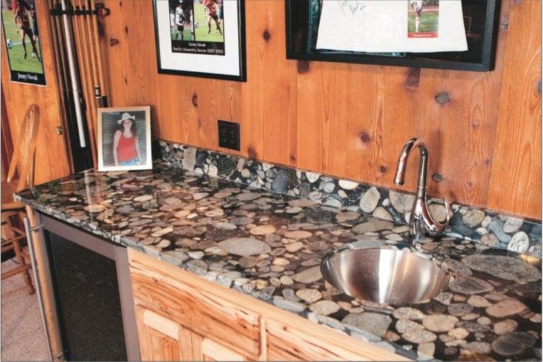 River Rock Granite Countertops 1500 Trend Home Design