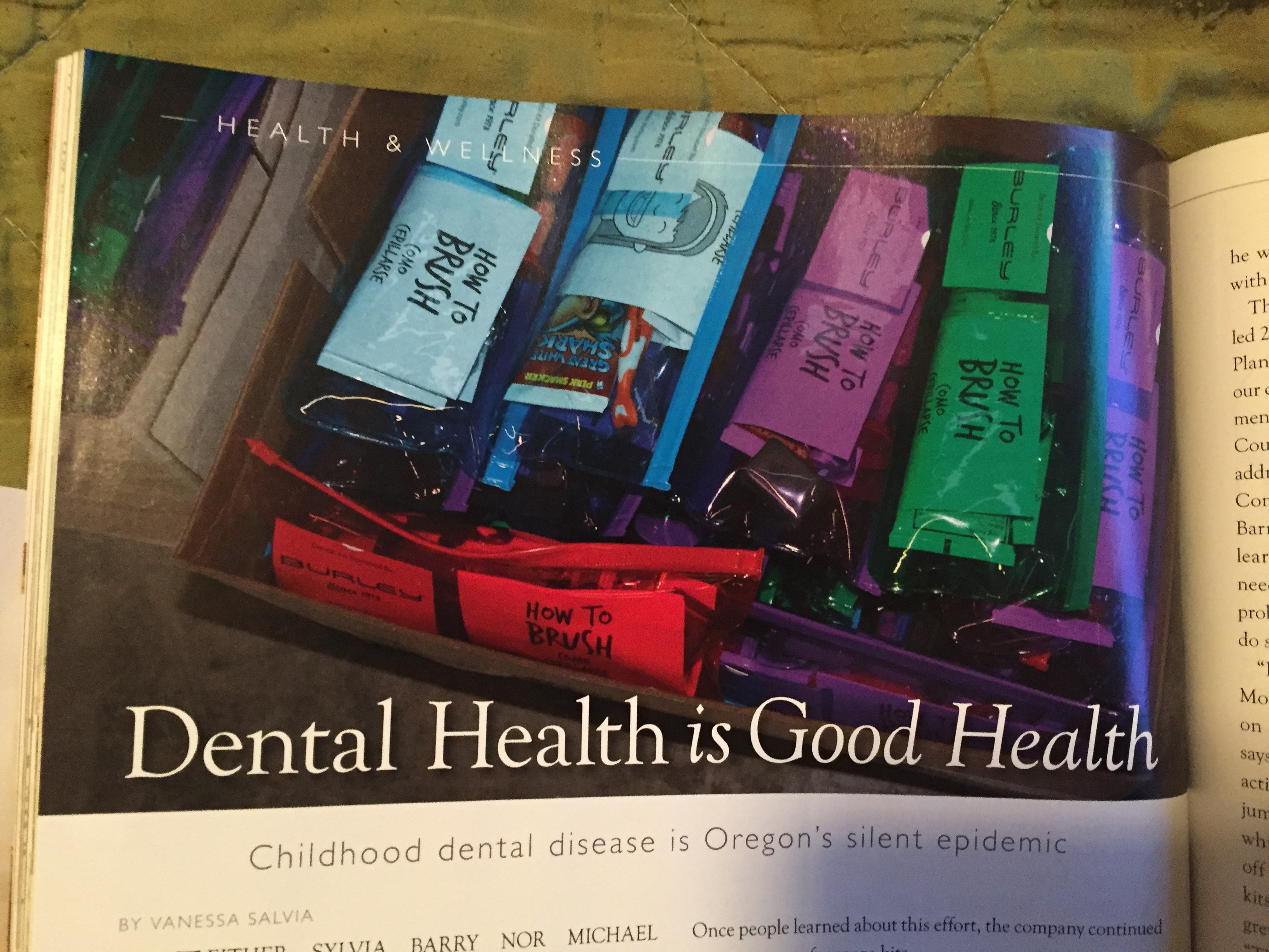 Dental Kits Spring 2017 Eugene Mag