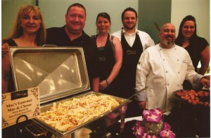 The Wild Duck team is ready for service at Chef's Night Out. Photo courtesy of FOOD for Lane County.